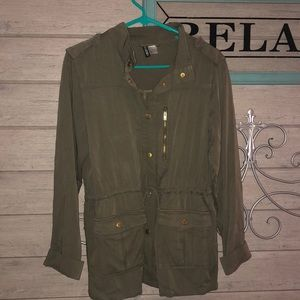 H&M Army Green Jacket